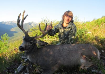 deer_guided hunting trips in british columbia